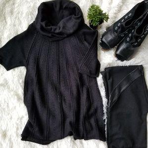 H&M   Black cowl neck sweater